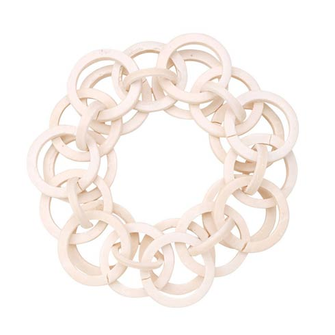 $54.00 White Napkin Ring - Pack of 4