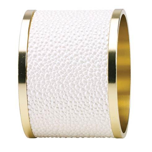 Bodrum  Skate Napkin Rings Oyster Napkin Ring - Pack of 4 $68.00