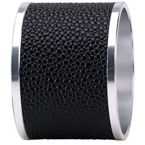 $68.00 Black Napkin Ring - Pack of 4