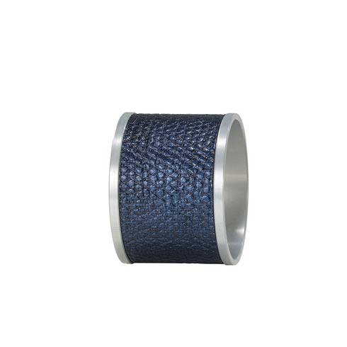 $68.00 Navy/Silver Napkin Ring - Pack of 4