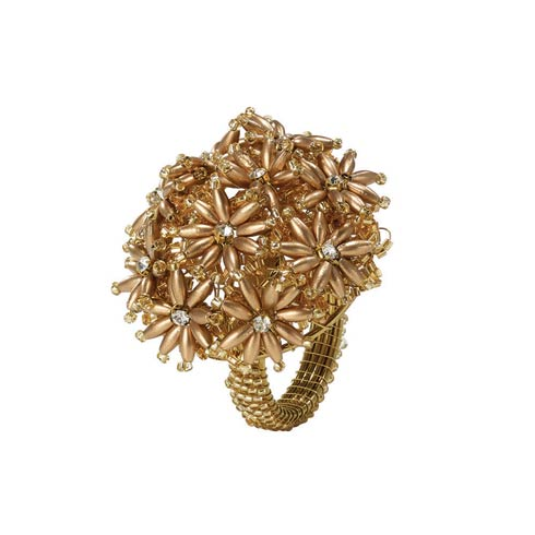 $64.99 Rose Gold Napkin Ring - Pack of 4