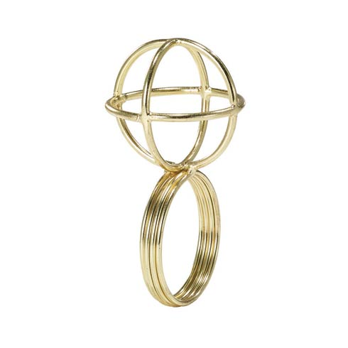 $26.99 Gold Napkin Ring - Pack of 4