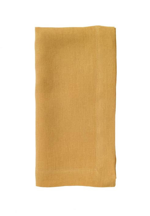 "Bodrum  Riviera Butterscotch 22""  Napkin - Pack of 4 $81.00"