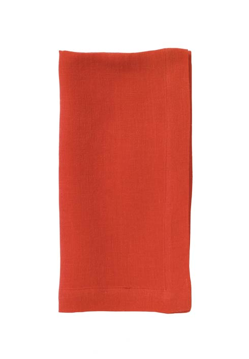 Bodrum  Riviera Persimmon  22' Napkin - Pack of 6 $122.00