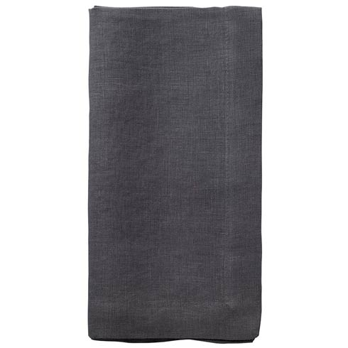"Bodrum  Riviera Pewter 22"" Napkin - Pack of 6 $122.00"