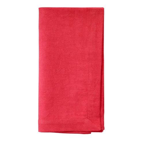 "Bodrum  Santorini Red 22"" Napkin - Pack of 4 $45.00"