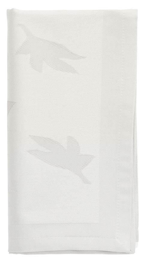 Bodrum  Leaves White Napkin - Pack of 6 $26.99