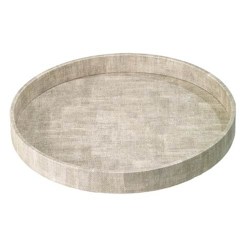 Bodrum  Luster Trays Birch Round Tray $124.00