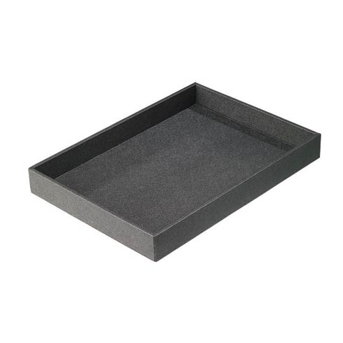 $124.00 Charcoal Rectangle Tray