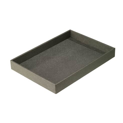 $124.00 Gray Rectangle Tray