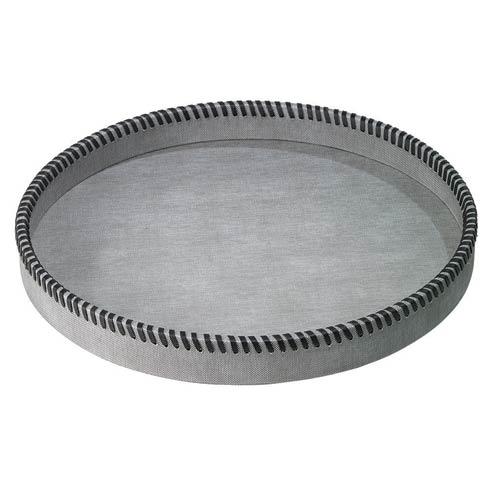 $180.00 Gray Round Tray