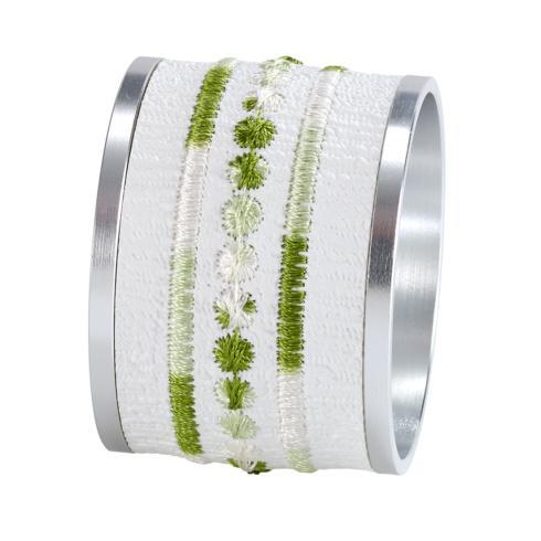 $77.00 Belgravia Green Napkin Ring