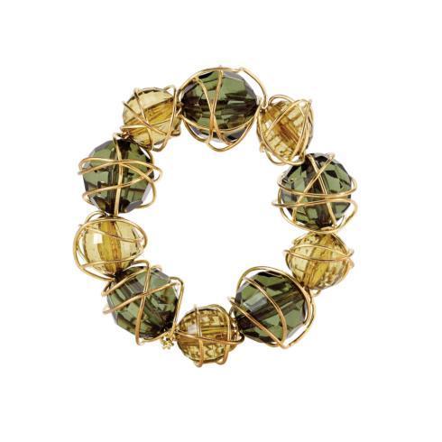 $50.00 Green Napkin Ring Pack of 4