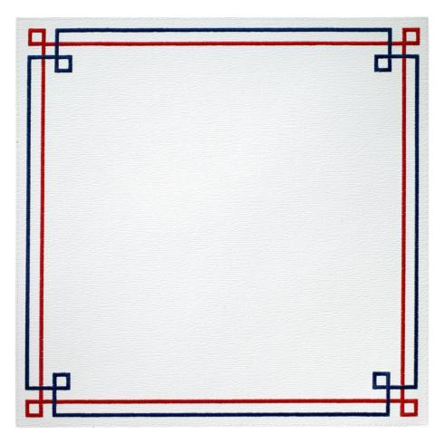 $126.00 Red Blue Mat p/4