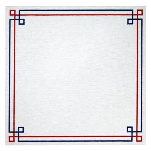 $126.00 Red Blue Mat p/4