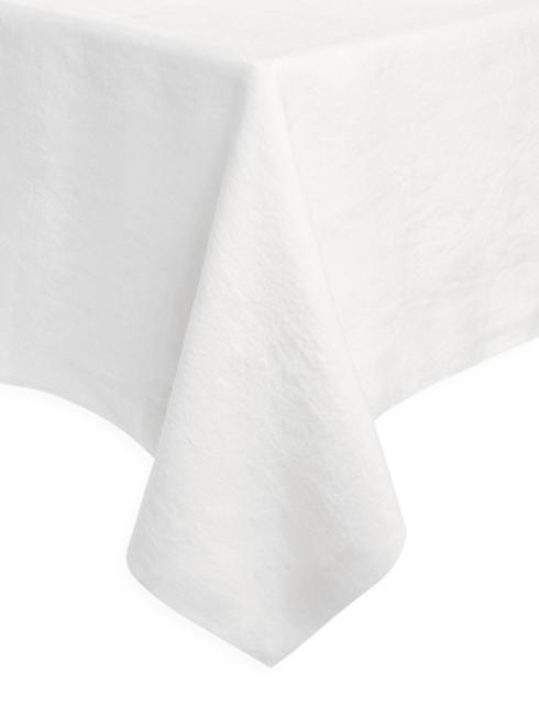 "$146.00 Pure White 68""x68"" Tablecloth"
