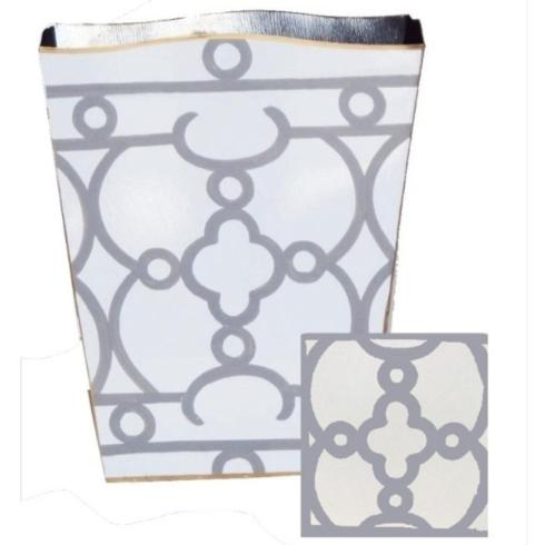 The Boutique Exclusives   Dana Gibson Grey Ming Tissue Box $65.00