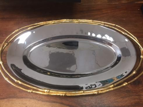 The Boutique Exclusives   L\'Objet Small Oval Tray $395.00