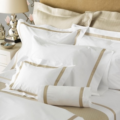 Matouk  Lowell Full Queen Duvet Cover $698.00