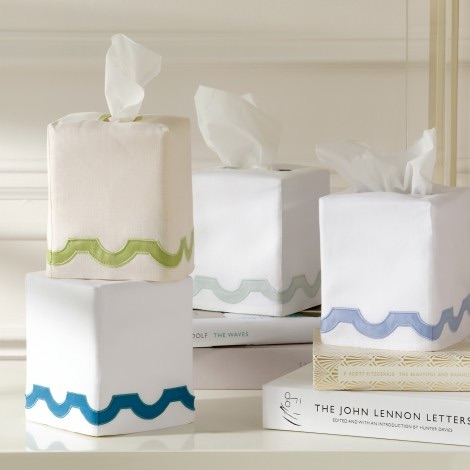 Matouk  Mirasol Bath Tissue Cover $49.00