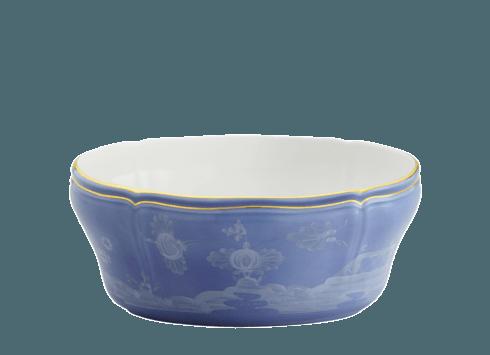 Richard Ginori 1735 Antico Doccia Oriente Italiano Pervinca Salad Bowl $450.00