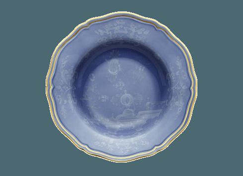 Richard Ginori 1735 Antico Doccia Oriente Italiano Pervinca Soup Plate $125.00