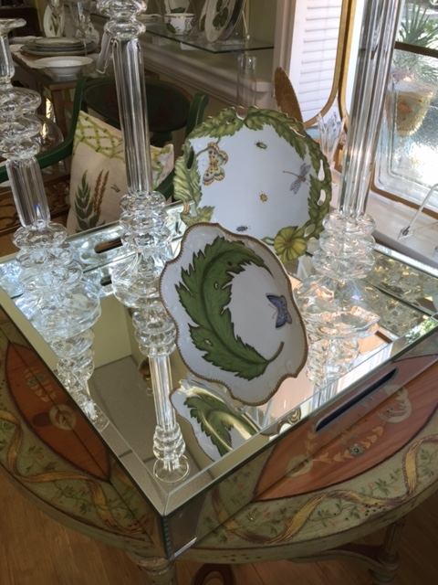 The Boutique Exclusives   RA Mirror Tray $225.00