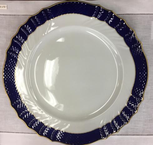 Richard Ginori 1735  Service Plates Segnaposto V. Blue $225.00