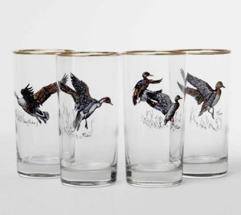 Richard E Bishop  Waterfowl Waterfowl Highballs $55.00
