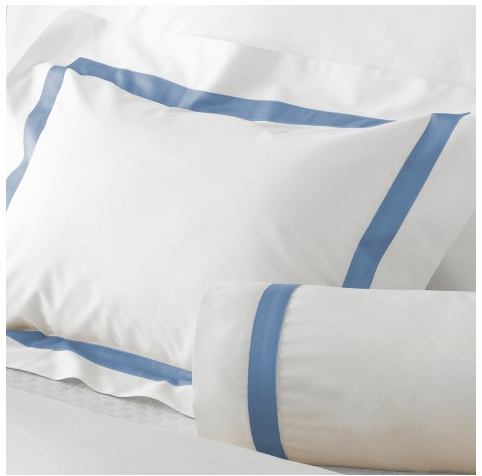 Matouk  Lowell Custom Lowell on Sierra King Duvet Cover for Sarah Stapleton $479.00