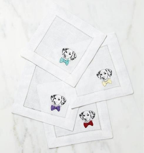 SFERRA   Cani w/ Bowtie Set of 4 $44.00