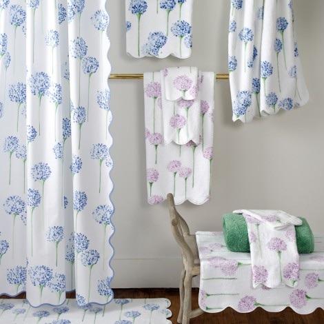 Matouk Shower Curtains Birds Eye Pique Price 9900 In