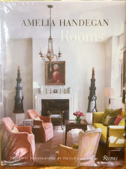 The Boutique Exclusives  Books Rooms by Amelia Handegan $50.00