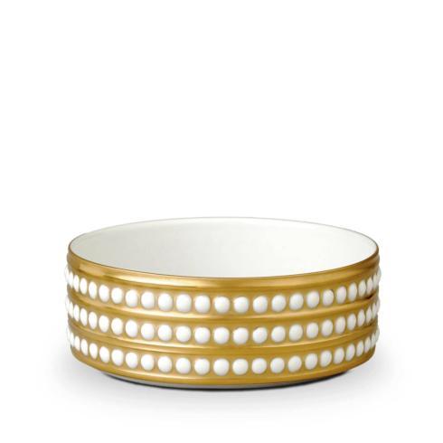 L'Objet  Perle 24k Gold Medium Bowl $300.00