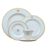 Pickard Monogram   Cup and Saucer $75.00