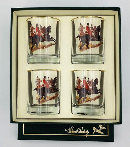 Richard E Bishop   Hunt Scene D.O.F. 4/set $49.00