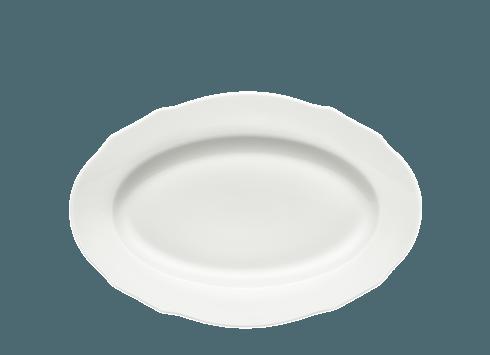 Richard Ginori 1735 Bianco Dutchessa Oval Platter $110.00