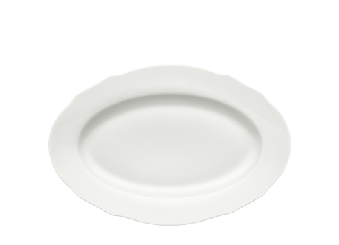 Richard Ginori 1735 Bianco Dutchessa Oval Platter $110.00