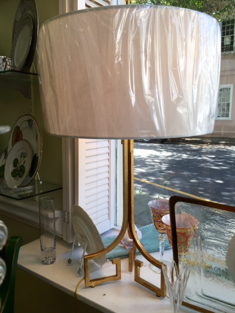 The Boutique Exclusives   RA Tripod Lamp $350.00