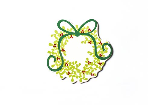 Happy Everything by Coton Colors  Seasonal Boxwood Wreath Big Attachment $24.95