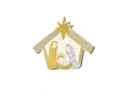 Happy Everything by Coton Colors  Seasonal Neutral Nativity Big Attachment $24.95
