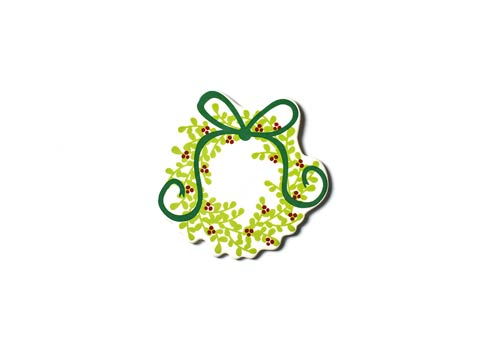 Happy Everything by Coton Colors  Seasonal Boxwood Wreath Mini Attachment $16.95