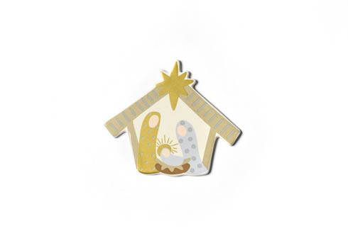 Happy Everything by Coton Colors  Seasonal Neutral Nativity Mini Attachment $16.95