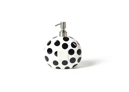 Happy Everything by Coton Colors  Dot Black Dot Mini Soap Pump $32.95
