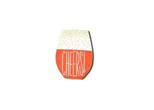Happy Everything by Coton Colors  Hospitality Wine Cheers Mini Attachment $16.95