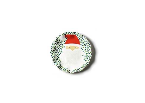 Coton Colors  Christmas Ho Ho Santa Ruffle Plate $17.95