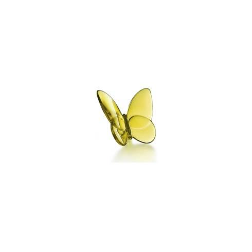 Baccarat  Lucky Butterflies Amber $140.00