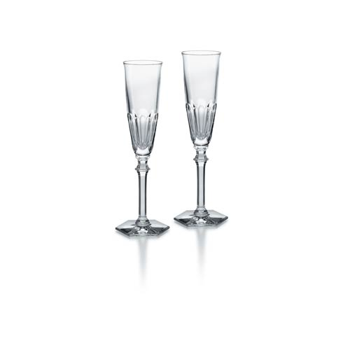 $360.00 Flute Clear, Set of Two