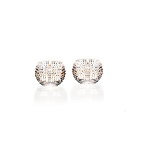 Baccarat  Eye Votive Clear, Set of Two $430.00