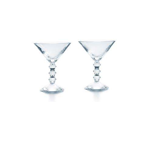 $330.00 Martini Clear, Set of Two